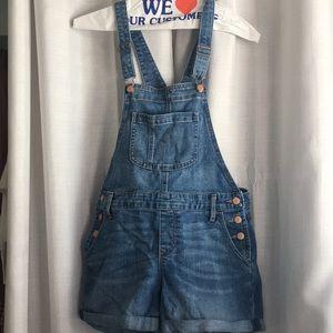 Women's denim overalls!